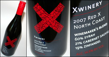 X Winery Red X